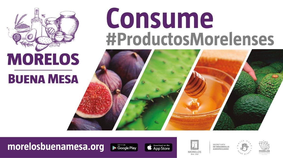 #TomaloEnCuenta  Consume #ProductosMorelenses 🥑🥕🥬🍅🍋🥝🍆🍉🥦🌽🥕🥜  #MorelosBuenaMesa #MeInformoYMeCuido