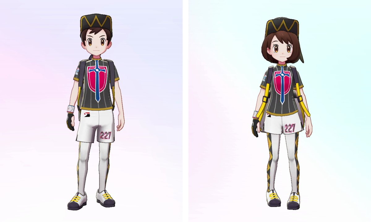 As a special #PokemonSwordShieldEX early-purchase bonus, you can receive Leon's cap and tights upon release of The Isle of Armor! Select the option to receive a Mystery Gift via the internet when the expansion releases to receive and use the items.