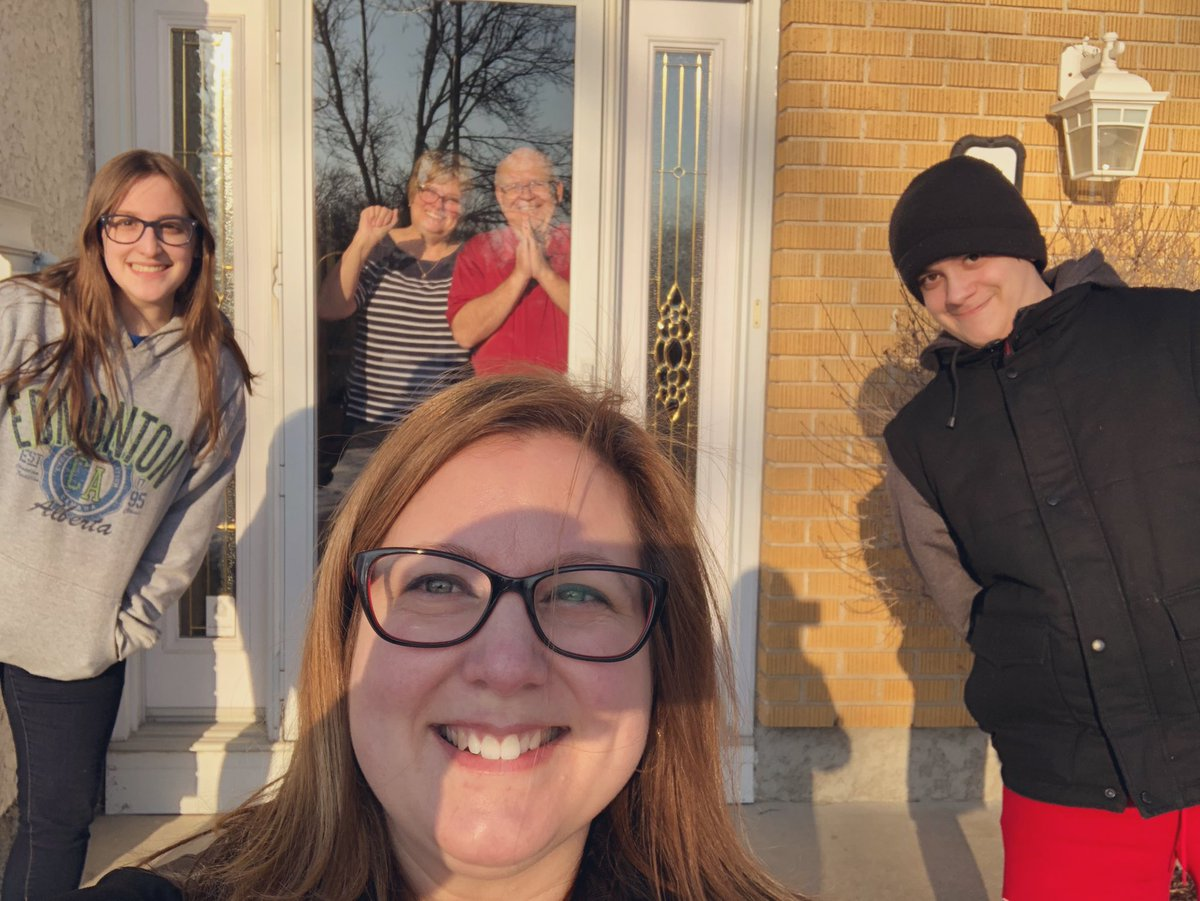 test Twitter Media - Dropping off groceries for my parents and a quick visit through a glass door. Dad had his measuring tape ready to ensure safety!😄  Missing the hugs, but thankful for their health.❤️   #FlattenTheCurve #familytime https://t.co/WSVuRhrKzj