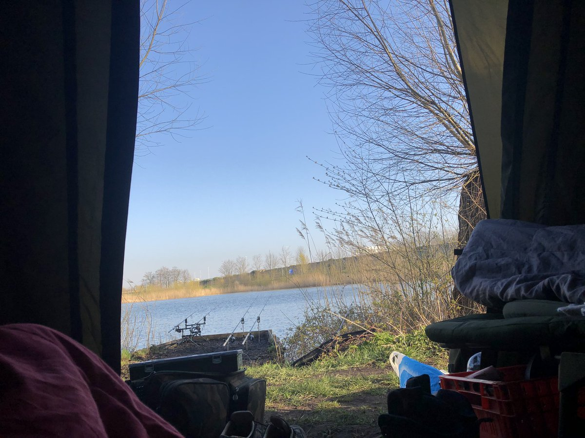 Tent view #<b>Carp</b>fishing. https://t.co/SpHIDkvw0p