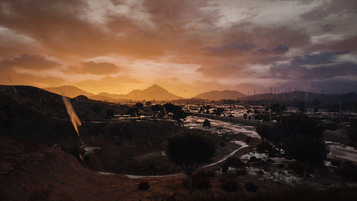 test ツイッターメディア - #GTA5 #グラセフ  アップデート入ってから触ってなかったけどmod入れ直したので遊んでた この景色なかなか良い。 https://t.co/22MAD1EmI8