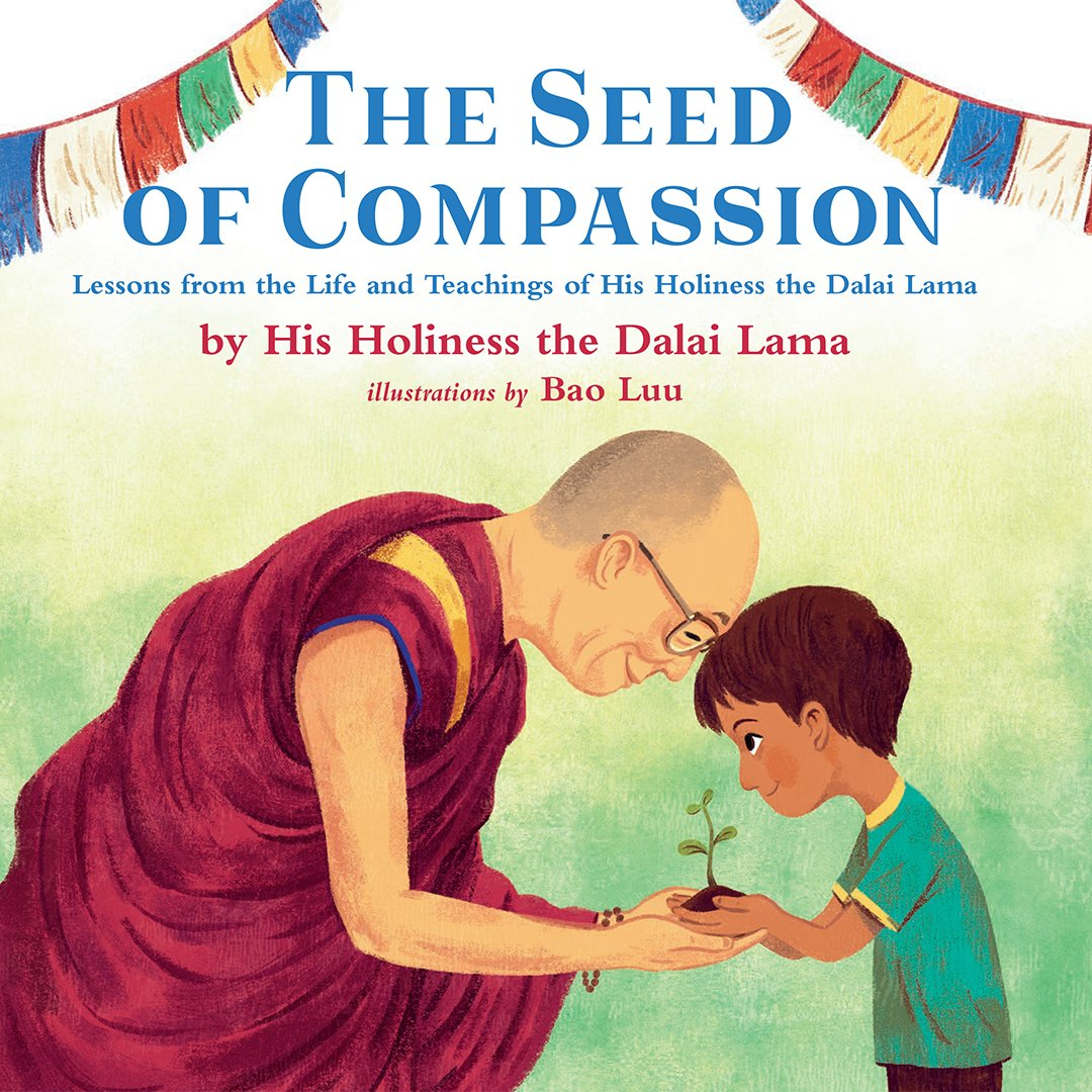 "In his new book, ""The Seed of Compassion"", His Holiness the Dalai Lama addresses children directly, sharing lessons of peace and compassion, told through stories of his own childhood."