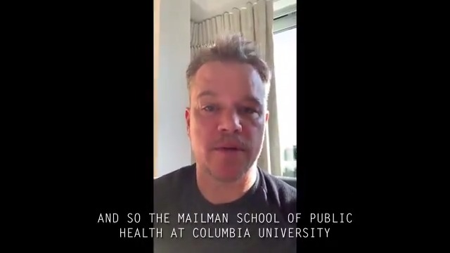 Thank you to the doctors, scientists & public health experts, like those at @ColumbiaMSPH, who are fighting to stop the spread of #COVID19. It's up to all of us to help #ControlTheContagion. Hear more from the cast & the experts on what you need to know: