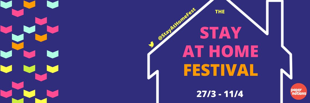 Calling all literature lovers! The @StayatHomefest starts today! See programme and find out how to join in here: