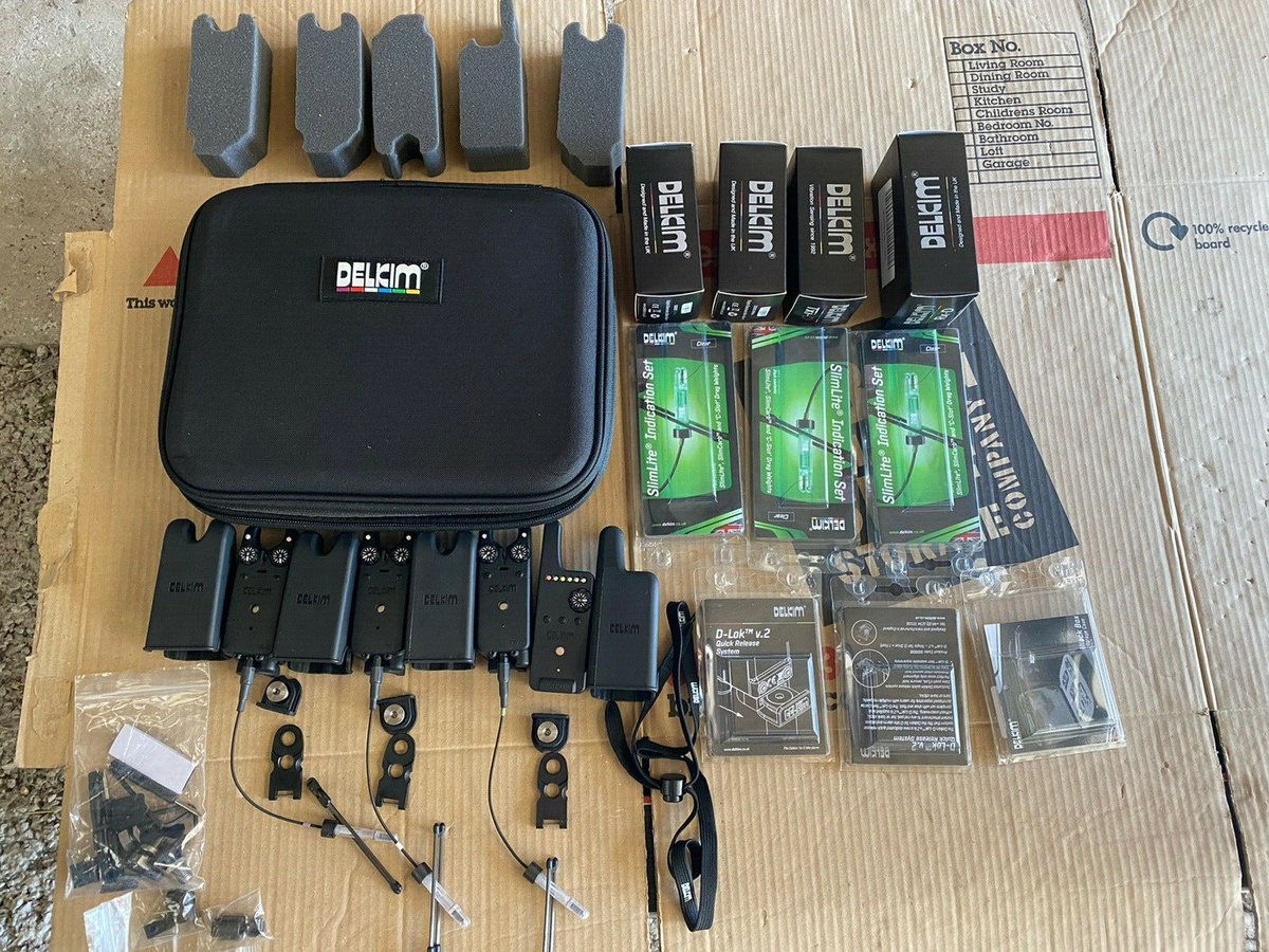 Ad - Delkim txi d set + Extras On eBay here -->> https://t.co/IXbOshmwf0  #<b>Carp</b>fishing