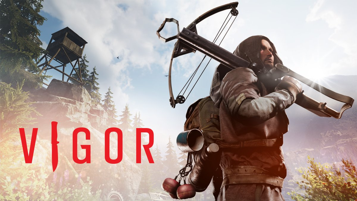 Fight and survive in the free-to-play Shoot n' Loot game Vigor, coming soon to #NintendoSwitch.  Register now for the Closed Beta: