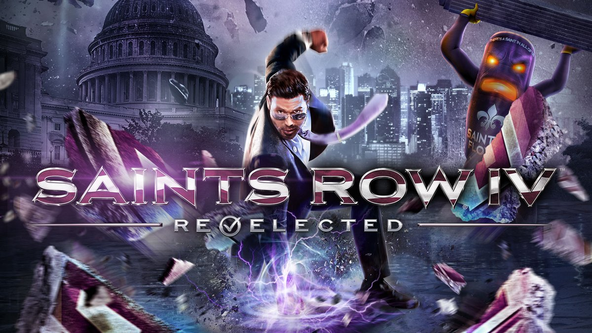 Enjoy the over-the-top, open world action of #SaintsRow IV: Re-Elected and save the city of Steelport with superpowers, wild weapons, and more—available now for #NintendoSwitch!