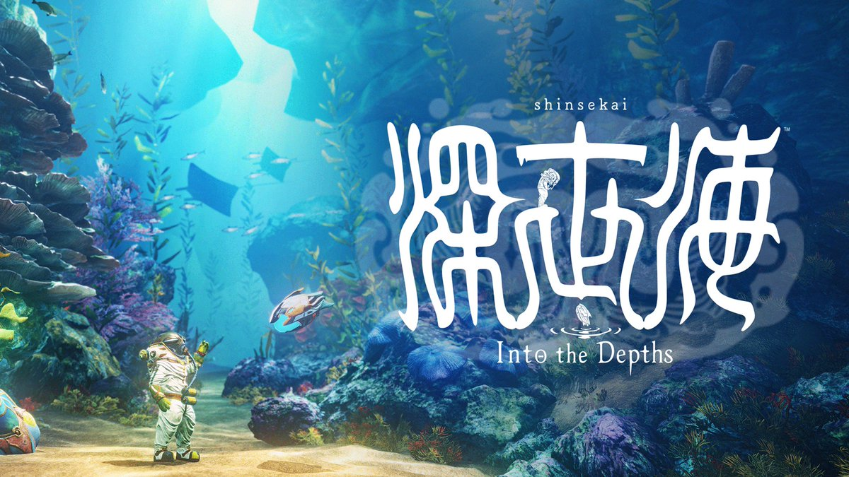 Explore mysterious deep-sea waters and discover the secrets hidden beneath the ocean surface in #Shinsekai: Into the Depths, available to play now on #NintendoSwitch #eShop!