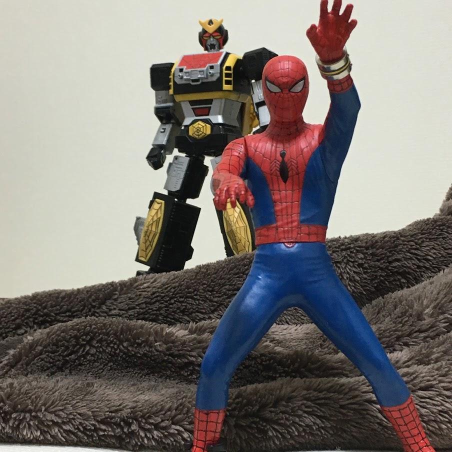 test ツイッターメディア - 超合金魂レオパルドンはもちろんすでに持っているが!リニュ版につくブレスレットも欲しくてむせび泣く男! スパイダーマンッ!!  #東映 #SpiderMan #超合金魂 #スーパーミニプラ #玩具 #変形 #スパイダーマン https://t.co/2VGjwidjKt