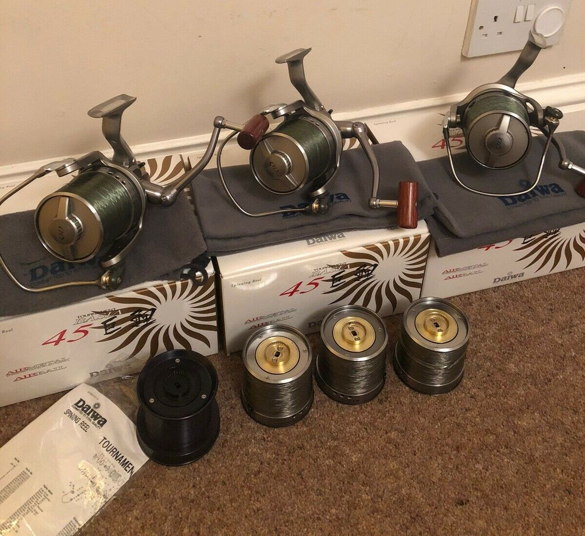 Ad - Daiwa Basia Tournament 45 QD x 3 On eBay here -->> https://t.co/MueSHt625p  #<b>Carp</b>f