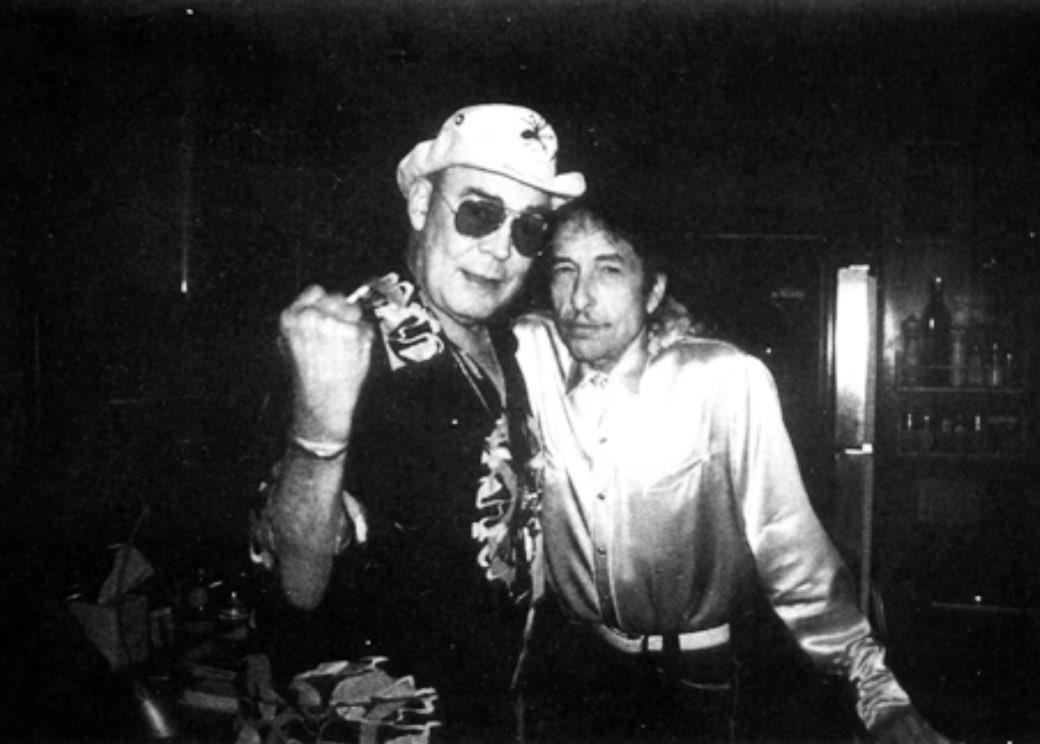 With Bob Dylan Aspen, Colorado 2002