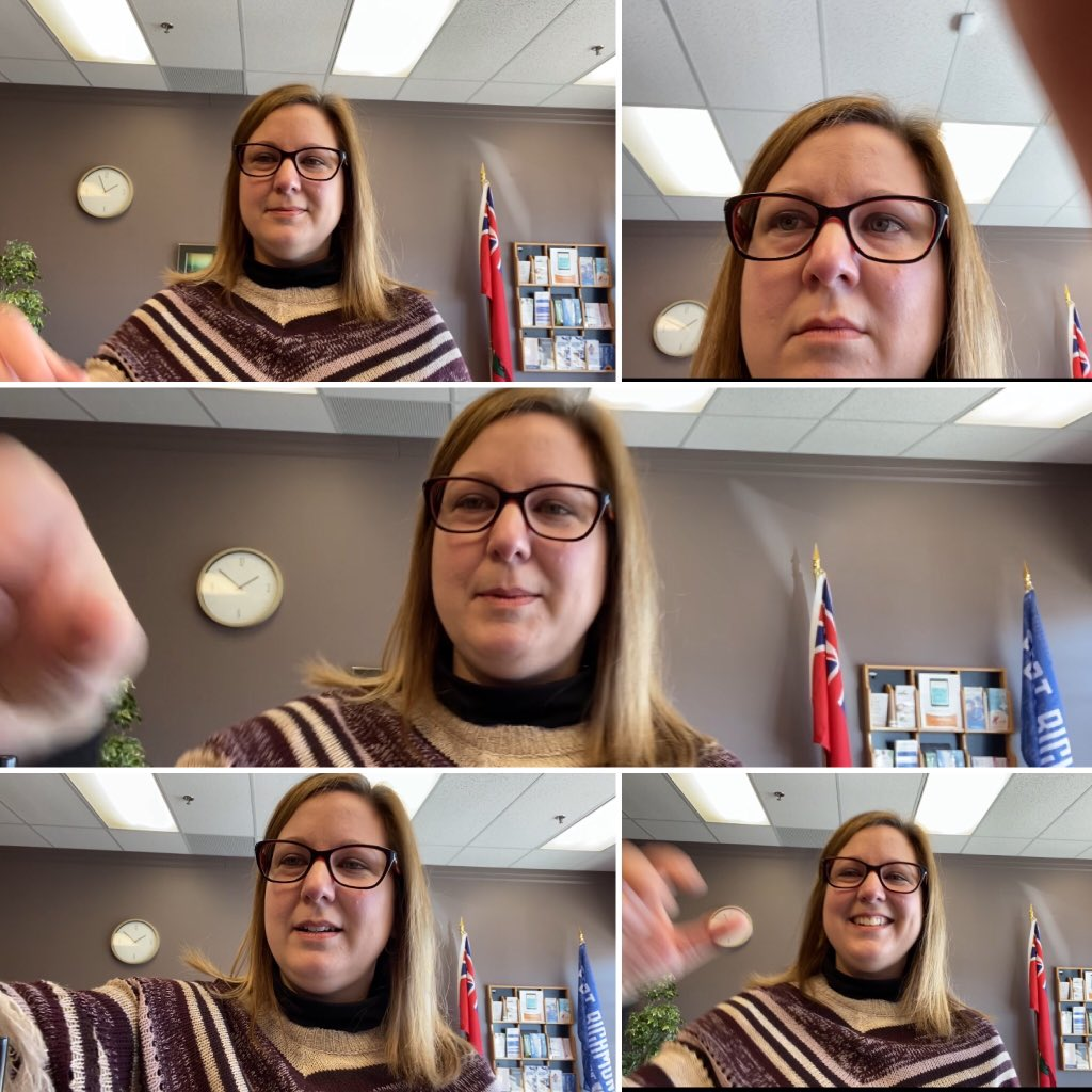 test Twitter Media - Various stages of mood while attempting to record a video message... The struggle is real!  #mbpoli #StillLearning https://t.co/cP4c1QfU6O