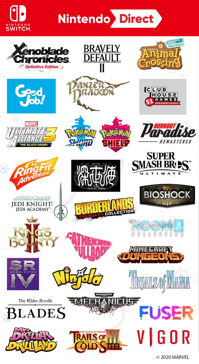 Which #NintendoSwitch games from the #NintendoDirect Mini are you excited for?