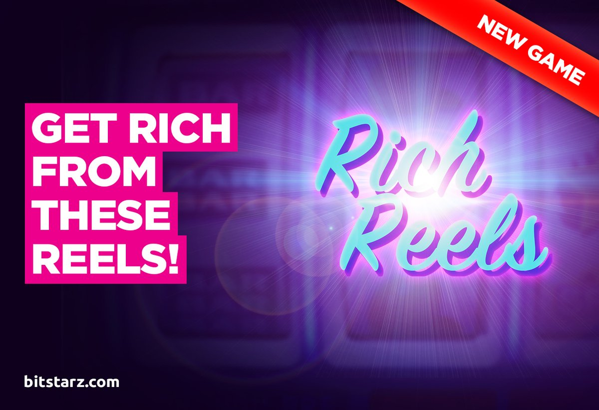 Rich Reels is the latest #slot from @EvoPlayCompany. Learn how to strike it rich and #win big in this epic slot!   #RichReels #Bitstarz #OnlineCasino #BitcoinCasino #OnlineSlots #SlotGames #CasinoGames #NewGame #GameGuide