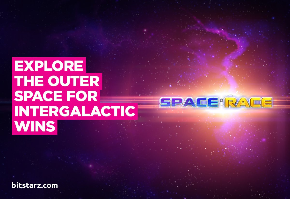 Put the Ace in Space and Win Big in the Space Race Slot by @ThePlayngo!  #BitStarz #SpaceRace #GameGuide #OnlineSlots #SlotGames #OnlineCasino #BitcoinCasino