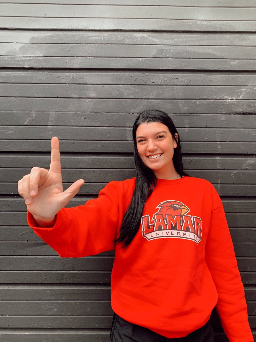 So blessed and excited to announce my commitment to play D1 volleyball and further my education at Lamar University ! Thank you to all my friends, family, and coaches who have helped me along the way! Go Cardinals!!! #LU #Peckem