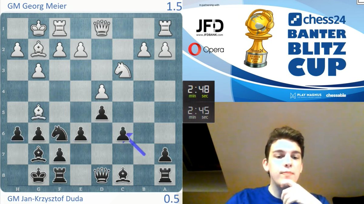 test Twitter Media - Duda loses a winning position and is trailing early on in the match: https://t.co/ZZLaXwBENt  #c24live #BanterBlitzCup https://t.co/eJzrhZGB6N