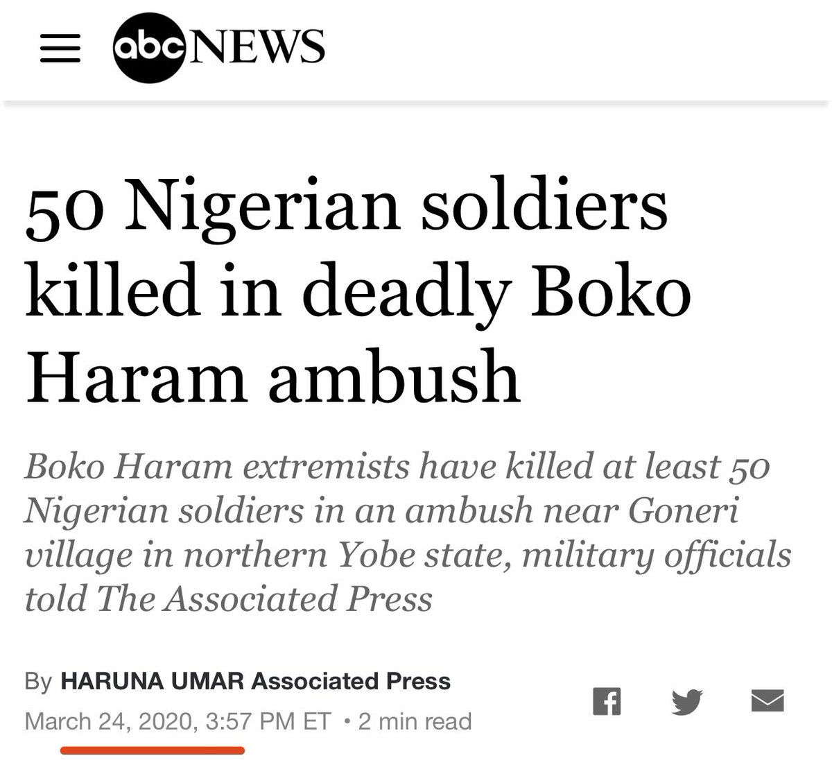 Buhari planned to Holiday but we made his failed Presidency trend #1 nationally and #4 globally that now he wants to address the nation @ 7PM 😂  Why didn't General Buhari address the nation when Boko Haram ambushed and killed 50 soldiers after he released 1400 of them!?👇🏼