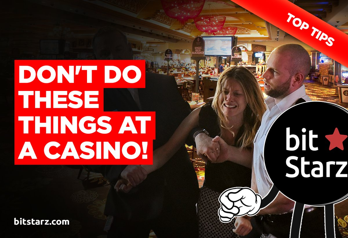 Next time you go to a #casino, make sure you avoid doing these things if you don't want to have a bad time!  #CasinoTips #BitcoinCasino #OnlineCasino #Bitstarz