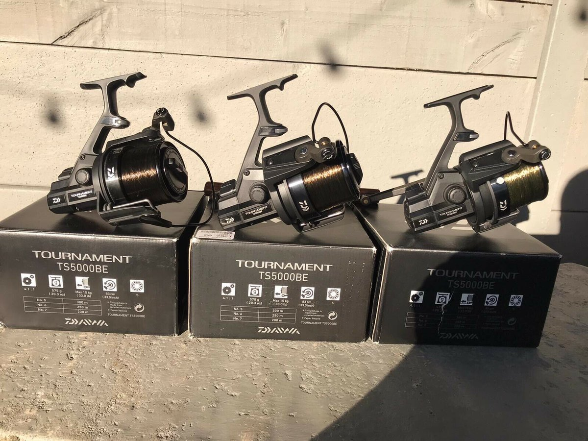 Ad - Daiwa 5000 Tournament Reel x3 On eBay here -->> https://t.co/9WRRPqTcja  #<b>Carp</b>fish