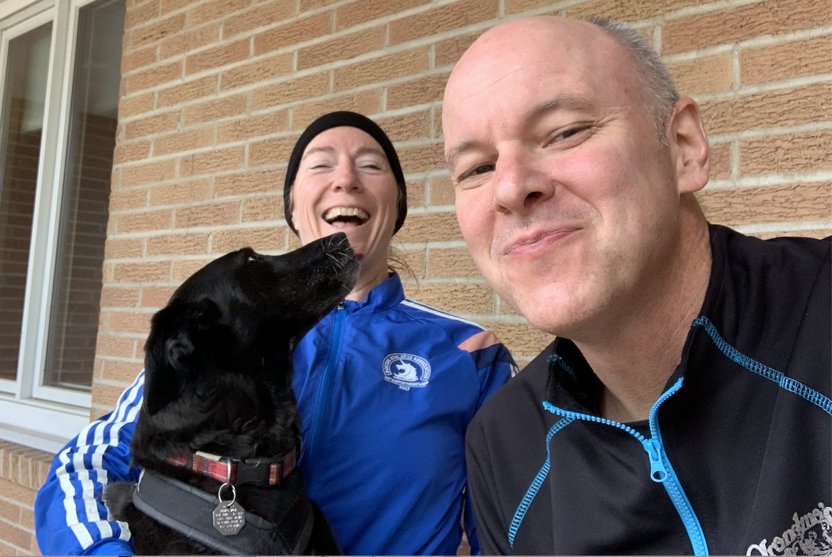 susanwagento: Just did my first ever virtual @bigdamrun at Medicine Lake with my two favorite running partners. https://t.co/onDtQ65Apz