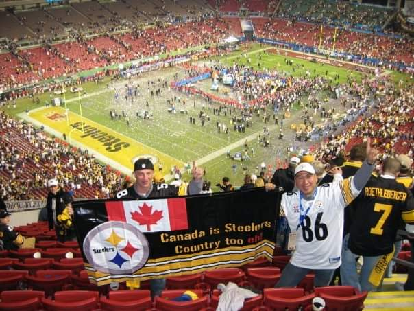 test Twitter Media - @steelers @LaMarrWoodley @bkeisel99 6 time Super Bowl Champs baby! https://t.co/FaQwRBKigu