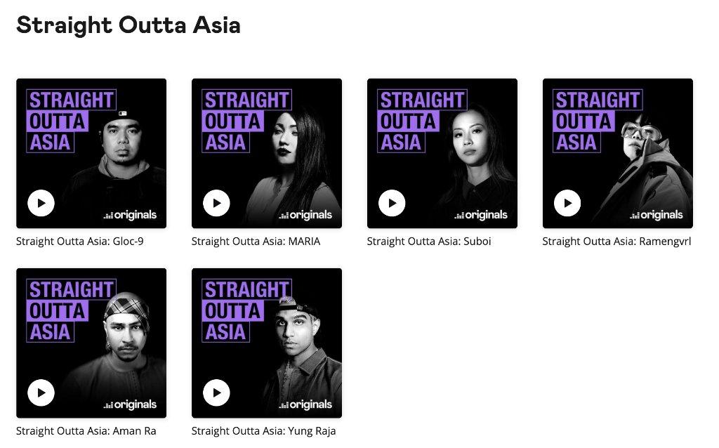Deezerの #Podcast【#StraightOuttaAsia 】がまとめて1つのページで確認できるようになりました💡最新のPodcastは史上最高のフィリピン人ラッパーの一人とみなされている #Gloc9 (@glocdash9)です🔥 ぜひ、DeezerのPodcastをお楽しみください✨ 🎧