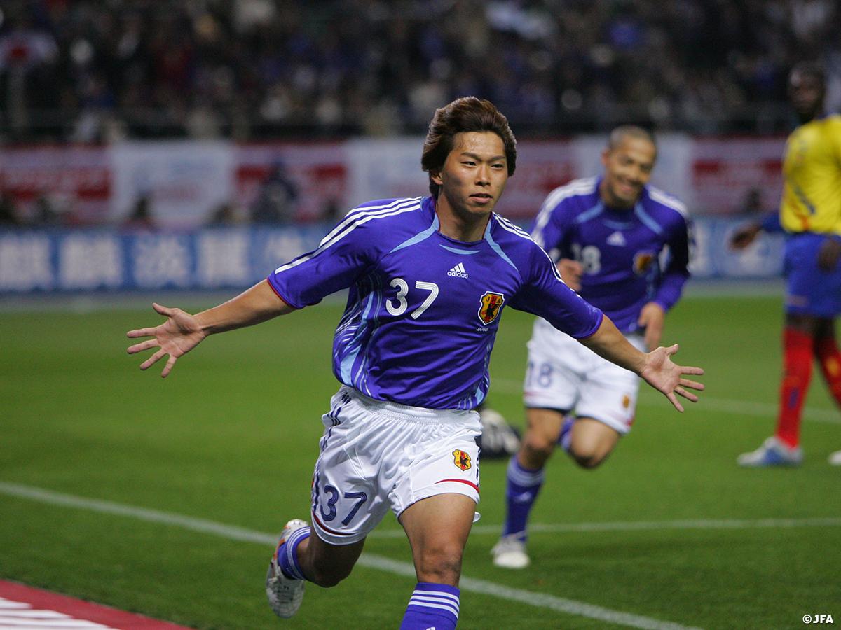 test ツイッターメディア - 【#OnThisDay】2006.3.30🔙  キリンチャレンジカップ2006 #日本代表 1-0 エクアドル 📍大分スタジアム ⚽#佐藤寿人  開幕が迫る2006FIFAワールドカップドイツに向けた強化試合。途中出場の佐藤寿人のゴールで1-0で勝利した。  #jfa #daihyo #SAMURAIBLUE https://t.co/g83sxQsNVz