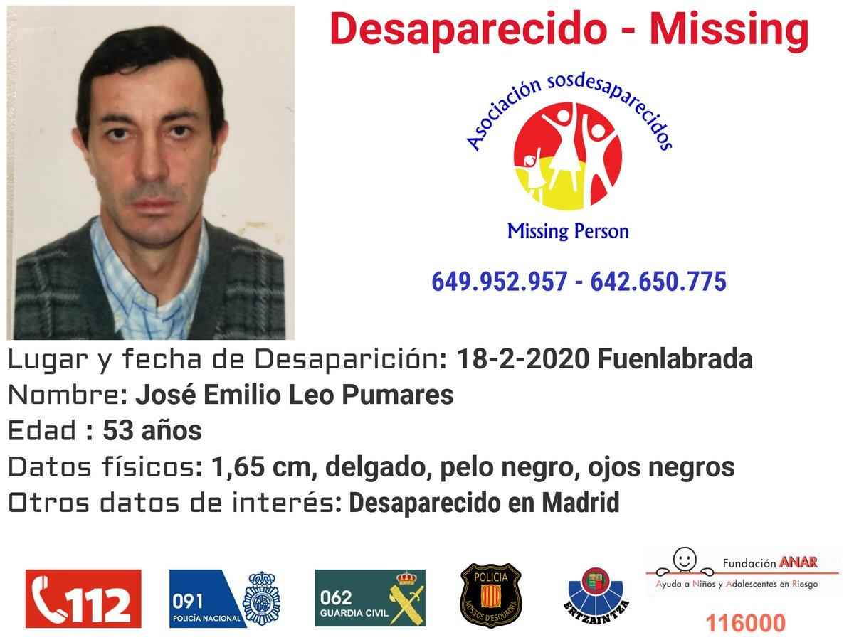 🔉Activamos la Red de cajeros automáticos @EuronetATMsES para difundir la alerta de José Emilio desaparecido en Fuenlabrada  #Desaparecidos #sosdesaparecidos #Missing #España #Fuenlabrada #Madrid  #EuronetATMs