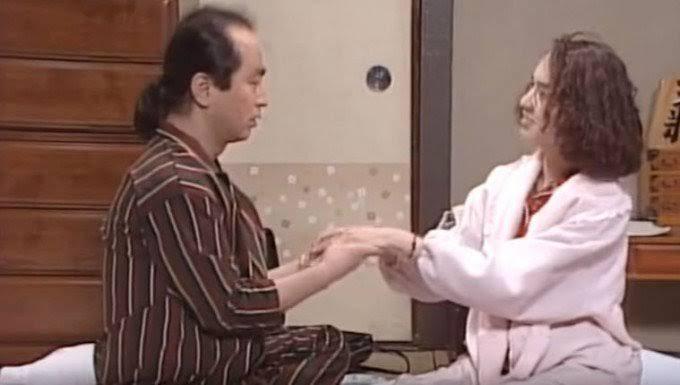 test ツイッターメディア - 「そこまで言う?早見優、北天佑引退、千代の富士引退、大乃国引退、貴乃花頑張れ、醤油、ラー油、アイラブユー。うっうっうっ、うー、なっかなおりっ、これがタマらん」#志村けん #石野陽子 #だいじょうぶだぁ https://t.co/5Zie1oiTDL