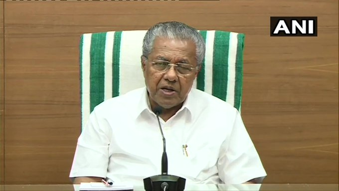 Kerala: With suicide cases being reported from various parts of the state after liquor sales were stopped here following #CoronavirusLockdown, CM Pinarayi Vijayan has directed the Excise Department to provide liquor to those with a prescription from doctors. (file pic)