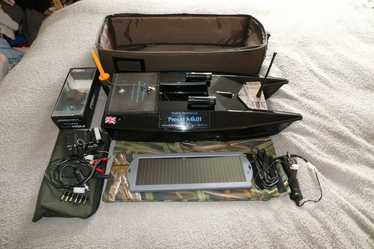 Ad - Angling Technics Procat Mk3 On eBay here -->> https://t.co/S8aOTjpILi  #baitboat #<b>Carp