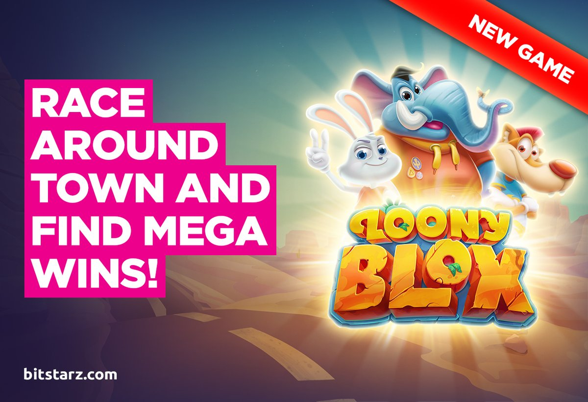 Loony Blox #slot will take you all around town with three kookie pals in search of big #wins. It's brand-new from @HabaneroSystems  #LoonyBlox #NewGame #GameGuide #OnlineSlots #SlotGames #OnlineCasino #BitcoinCasino