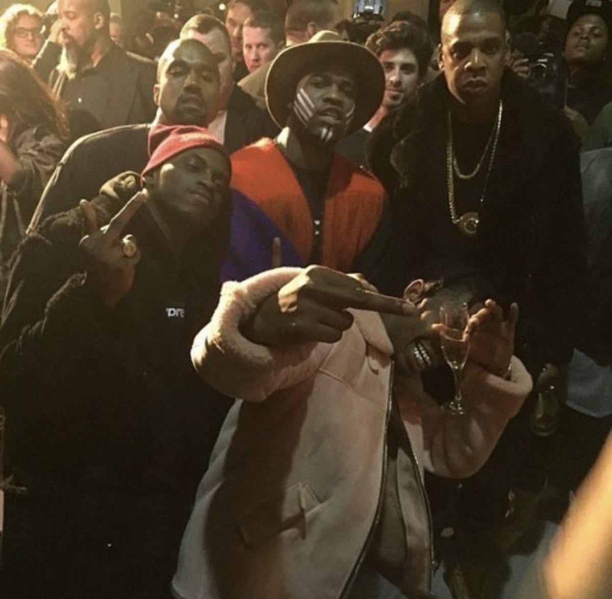 RT @hypeandpower: Kanye West x A$AP Ferg x Jay-Z x A$AP Nast x Travis Scott https://t.co/RCNhUiIiOl