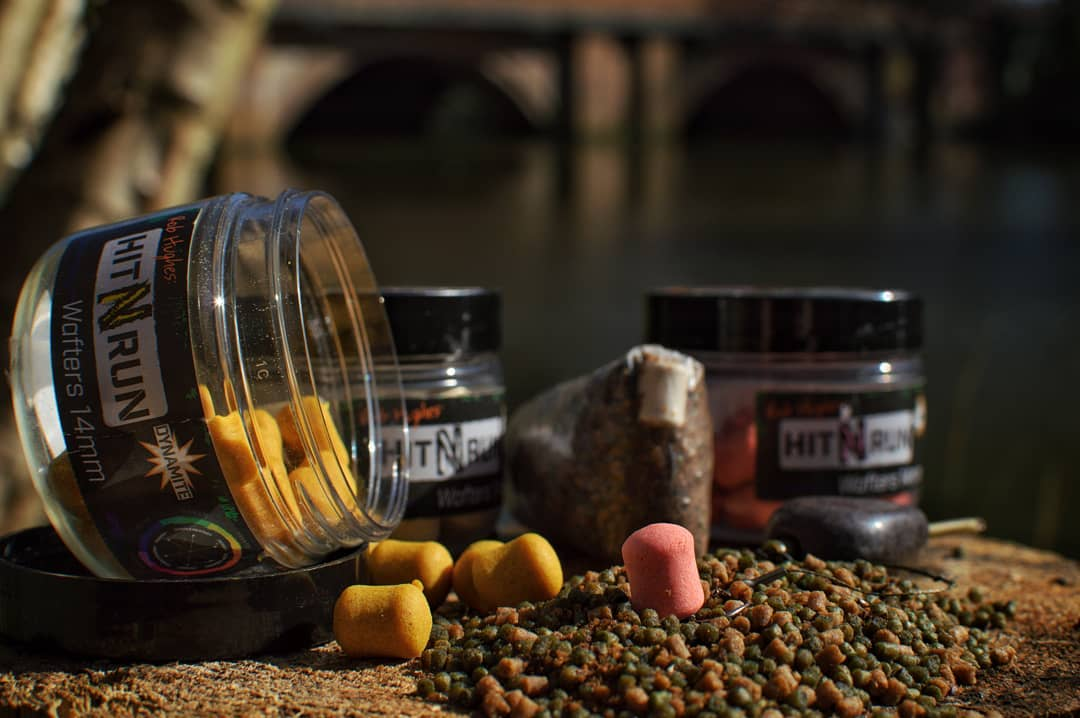 The new Hit n Run wafters are perfect for small bag presentations...  #HitNRun #DynamiteBaits #<b>Ca