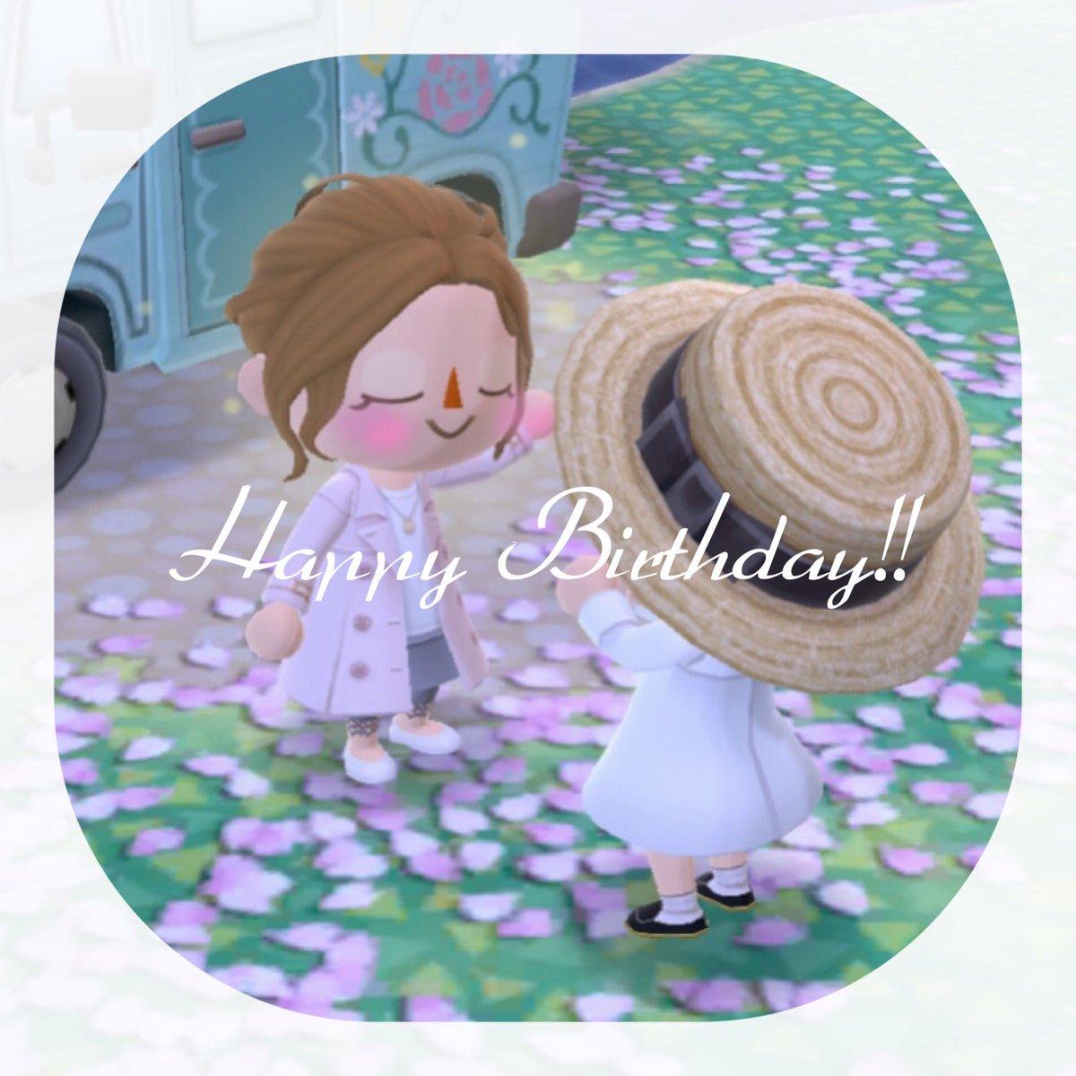 test ツイッターメディア - @mint_a_c mintさんお誕生日おめでとうございます☺️💓mintさんにとって素敵な年になりますように✨これからもポケ森でもあつ森でもよろしくお願いします〜😊🎶 https://t.co/PSVj789ztw