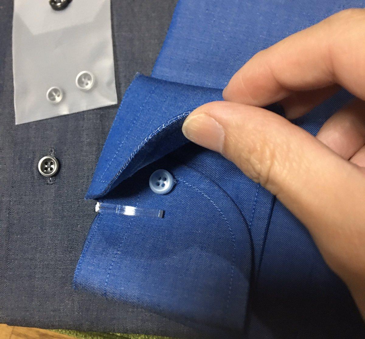 test ツイッターメディア - 仕事から帰ると、麻布テーラーからオーダーしていたシャツが届いていました。  シャンブレーシャツです。 良い感じの仕上がりですが、オーダーミスでカフス用のホールが無かったです。 次の改善点にします。 https://t.co/33LDSRolTJ