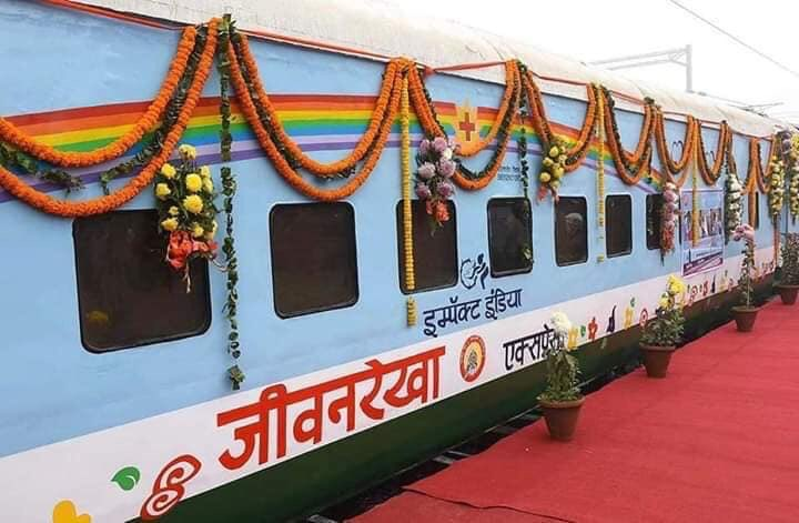 "China offered to build makeshift hospitals in India on d lines of #Wuhan, to treat #COVID19 patients but #IndianRailways created innovative solution & converted train coaches into isolation wards.   D great #Indian ""Jugaad Ideology"" rocks.   #IndiaFightsCorona  #RailMinIndia"