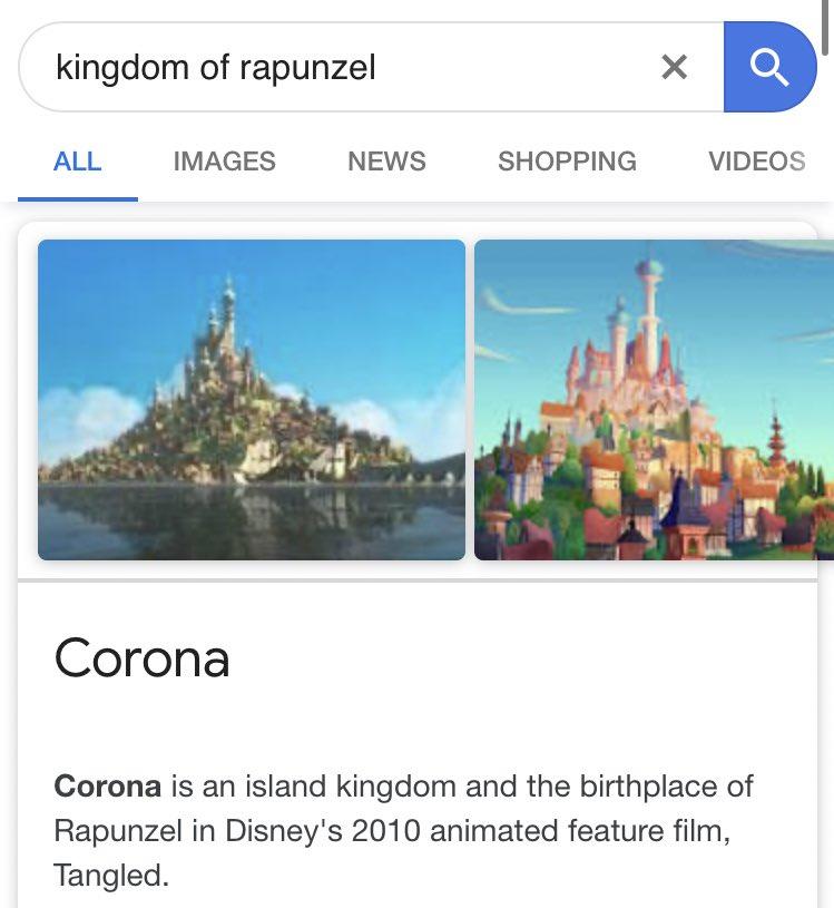 @fabulous9121 しかも、ラプンツェルのいる王国の名前は……