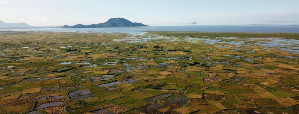 test Twitter Media - Now that most of our researchers are in #lockdown due to #COVID19 and can barely go outside, there is an extra appreciation of such breathtaking photographs resulting from research - this one shot by drone over #LakeChilwa in #Malawi 2019 to help examine #ricefield distribution https://t.co/TroFnSjNn6