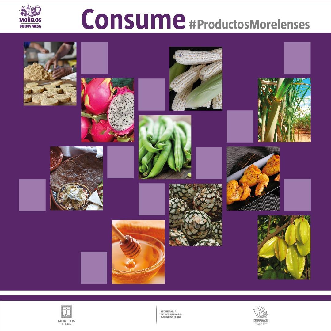 #CONSUME lo que produce nuestro campo 🌾🌽🍅   !Hoy! es el mejor momento de apoyar a nuestros productores locales con la compra de los alimentos que con dedicación, esfuerzo y medidas de sanidad, producen día con día para tod@s  #ProductosMorelenses  #TuQuePuedesQuédateEnCasa