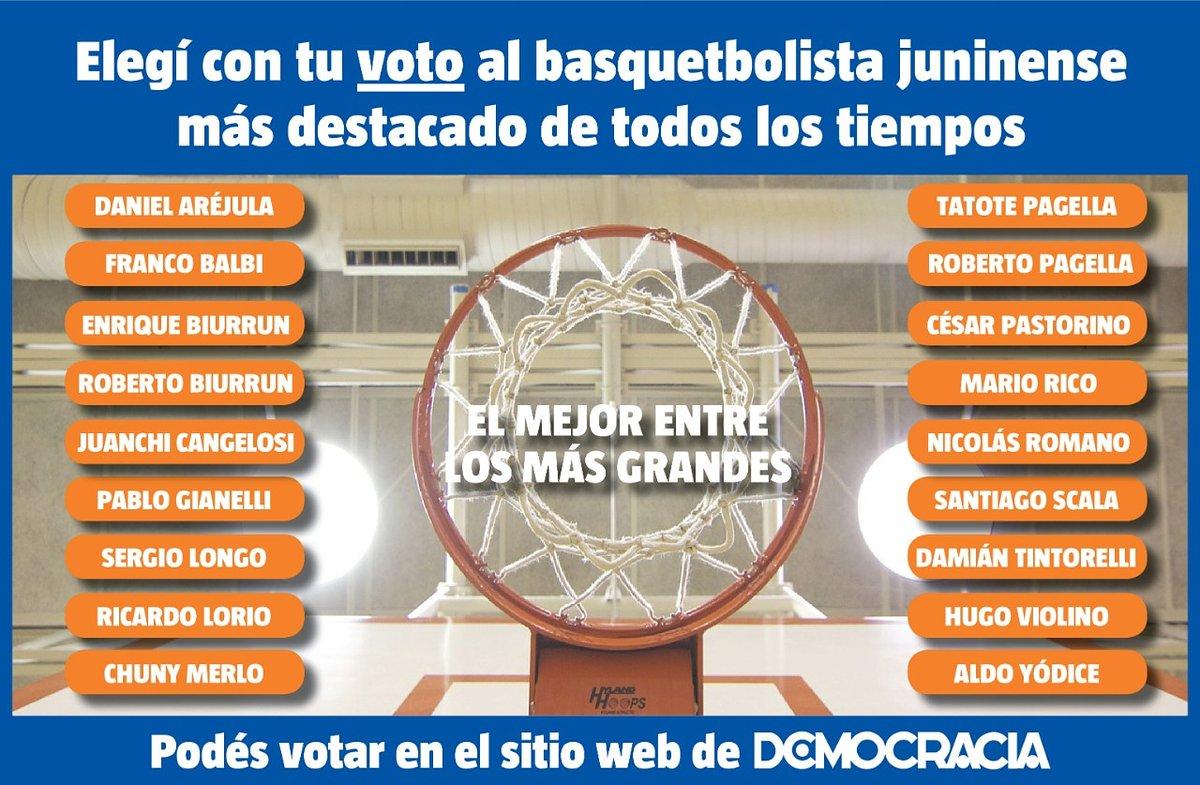 Vota al mejor básquetbolista de Junín - https://t.co/QRgbe0hori https://t.co/0UNewMWmSD
