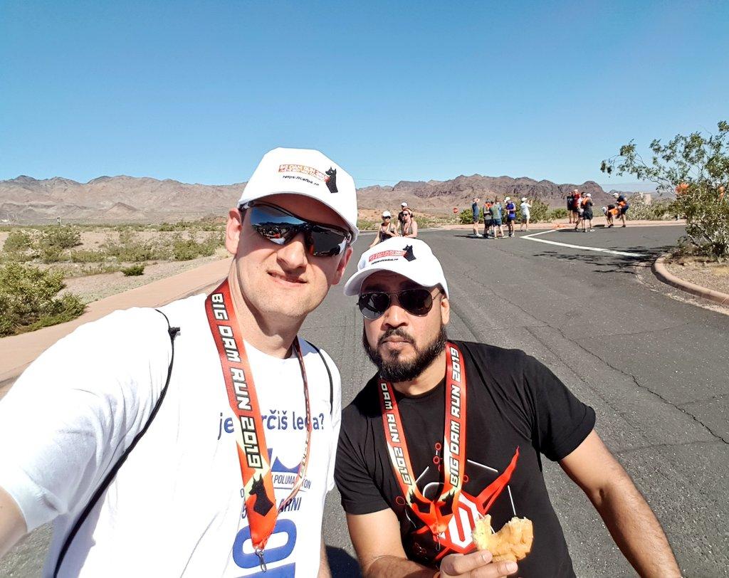 aronstanic: #BigDamRun throwback photo time... #MagentoImagine last year. It was a fun run under the desert sun. 🏜☀️🌡😎 https://t.co/iIyUpidack