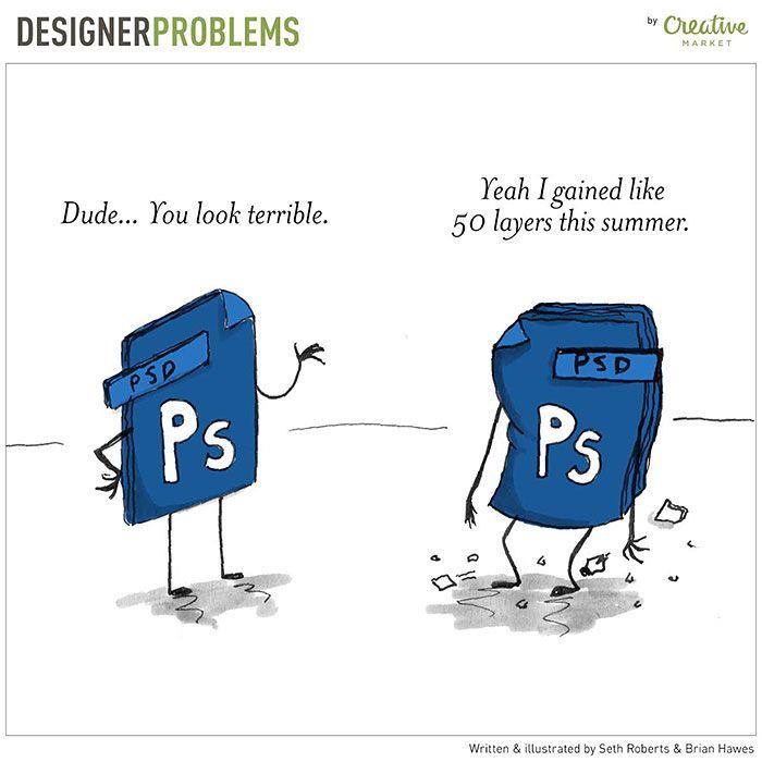 minstrelman91: Lolz some Photoshop humor. #photoshop #AdobeSummit #GraphicDesigner #design #uxdesign #UserExperience #humor #Memes https://t.co/I3iW4jQ8Ik