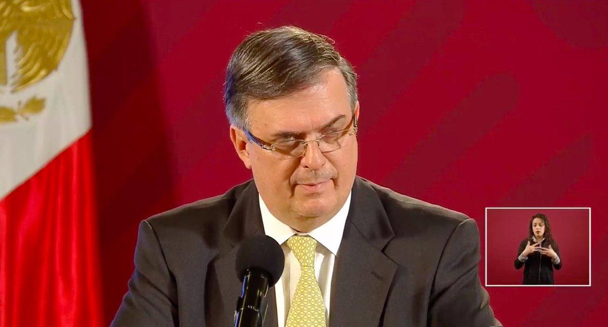 #ÚLTIMAHORA El Secretario de Relaciones Exteriores @m_ebrard, anuncia la Declaratoria de emergencia sanitaria por causa de fuerza mayor a la epidemia de SARS-CoV-2 (#COVID19mx) en México.