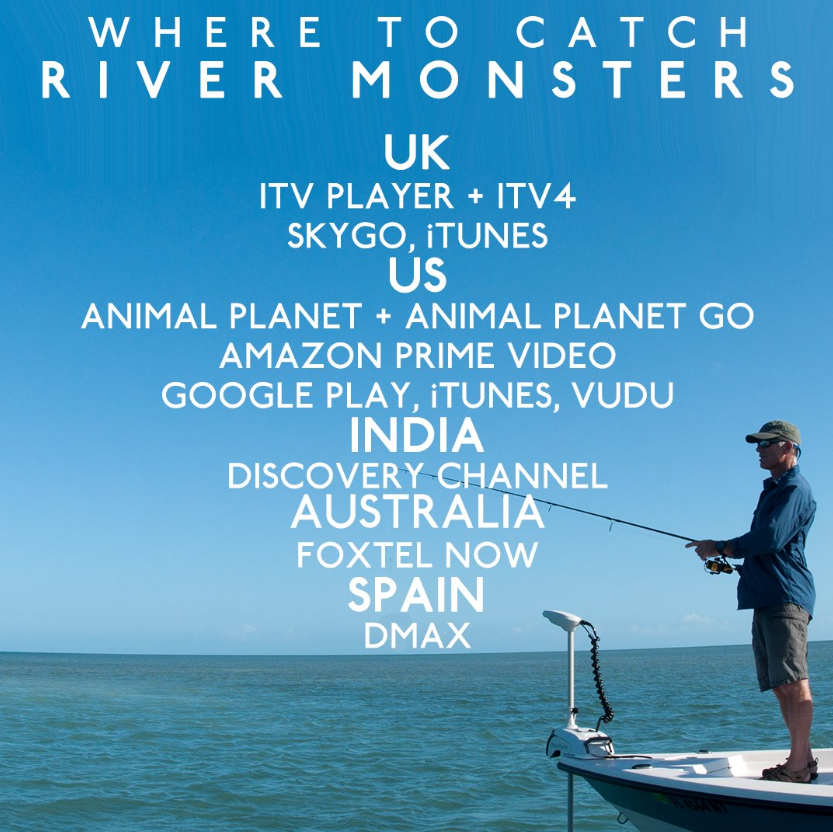 Spend a night in with Jeremy Wade – here's all the places you can catch up on old school #RiverMonsters episodes 👇 https://t.co/8ApEeRppNn