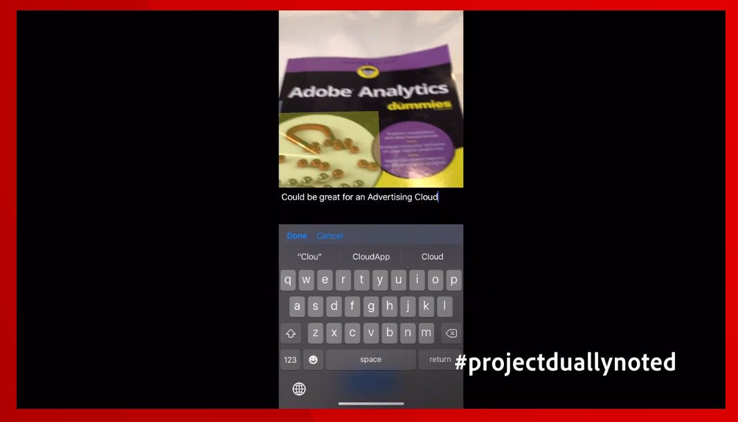 rohrmueller: #projectduallynoted is definitely something usefull and should become public. #adobesummit https://t.co/bnf2G2yfhV