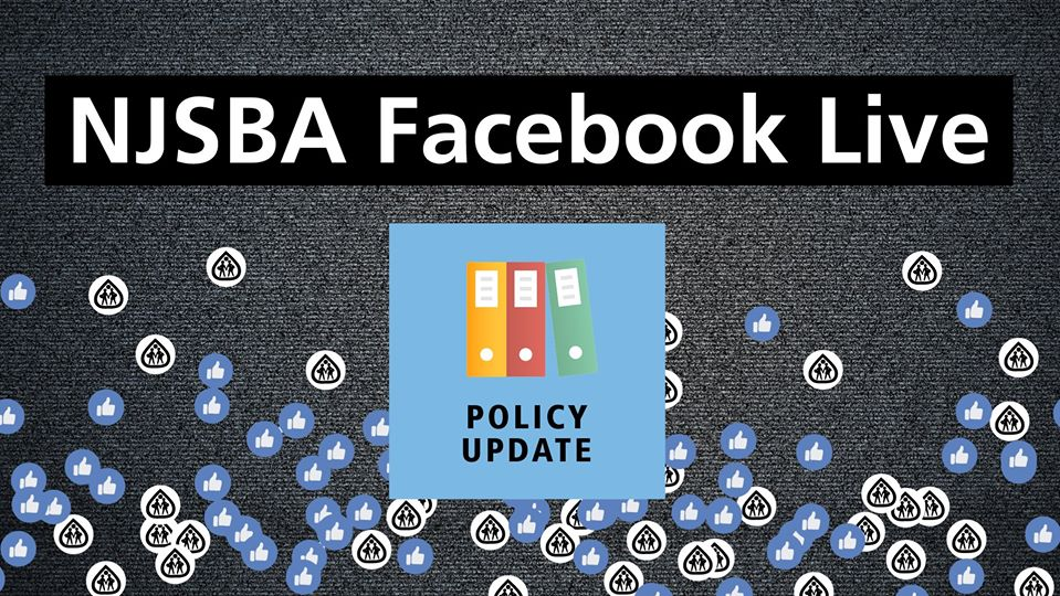 LIVE @ 10 a.m. NJSBA Policy Manager Steve McGettigan and Policy Consultant Jean Harkness will share frequently asked policy questions and will field questions from the live Facebook audience. LIVE on our Facebook page: https://t.co/gJH6AivspJ https://t.co/csd874OClp