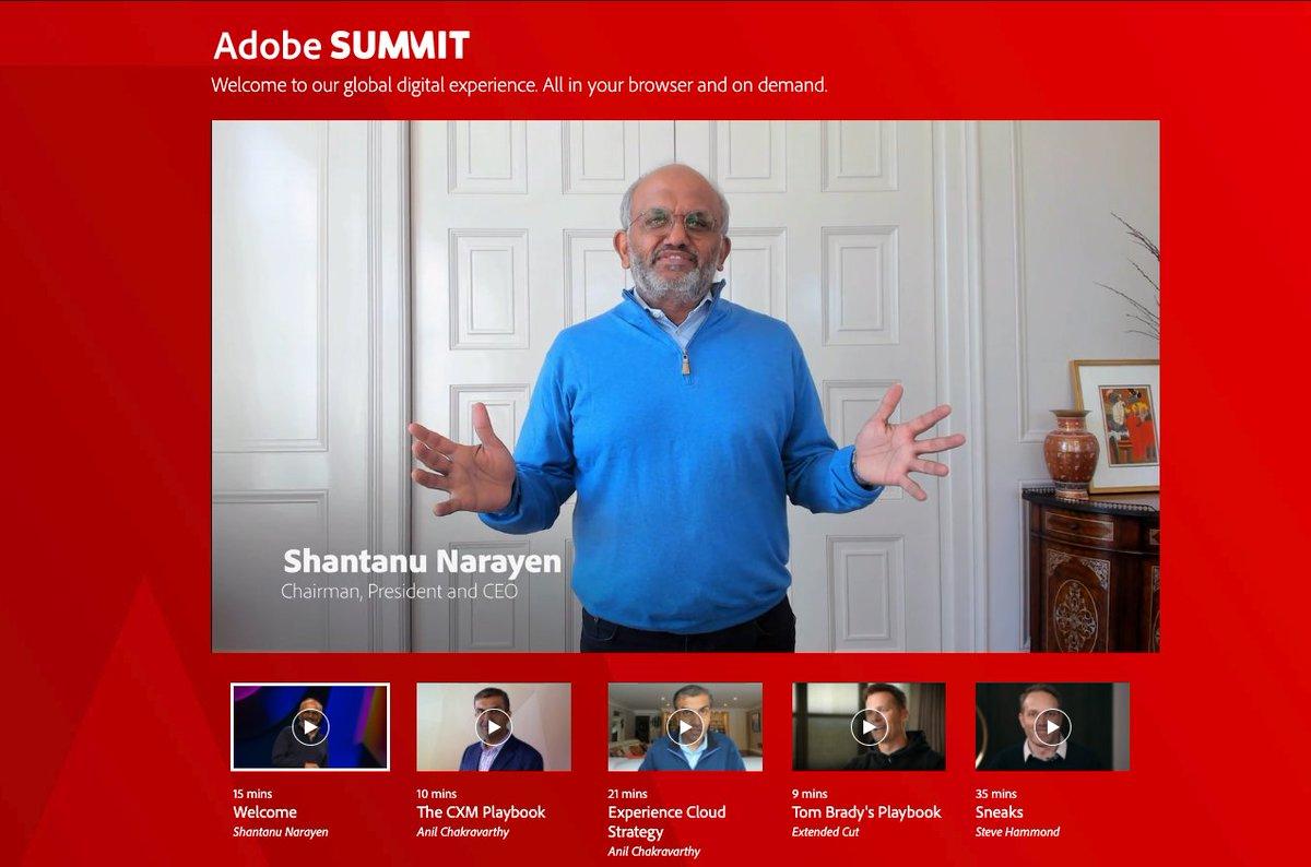 emily_a_wilhoit: Looks like @Adobe #AdobeSummit is up a few mins early...lets go! https://t.co/zkCsR4VDM5
