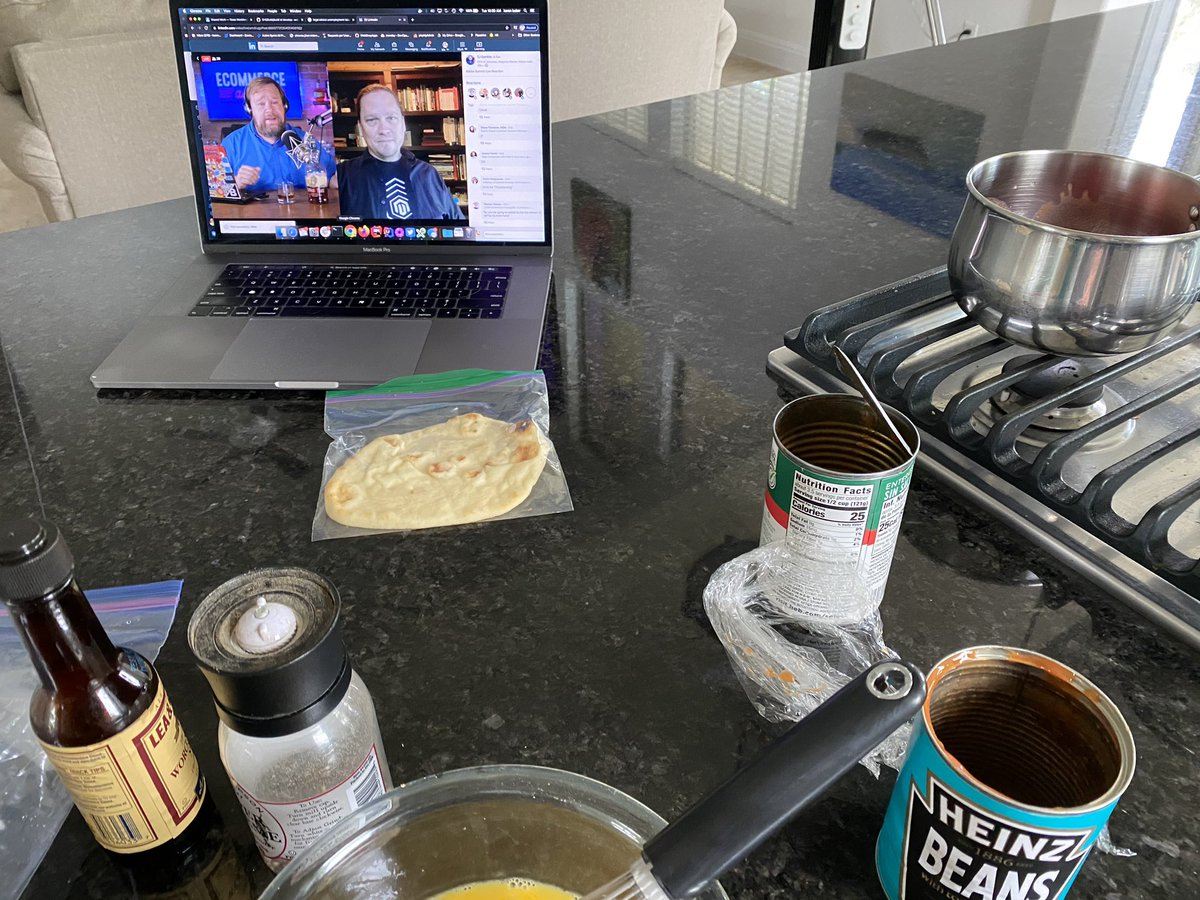 wsakaren: Cooking breakfast listening to @ecommerceaholic #magento #AdobeSummit https://t.co/Pjyoe4wtDf